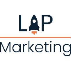 Logo bedrijf Lap Marketing